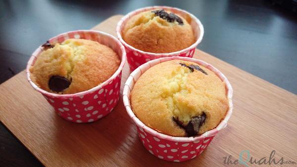 Orange Choc Chip cupcake recipe