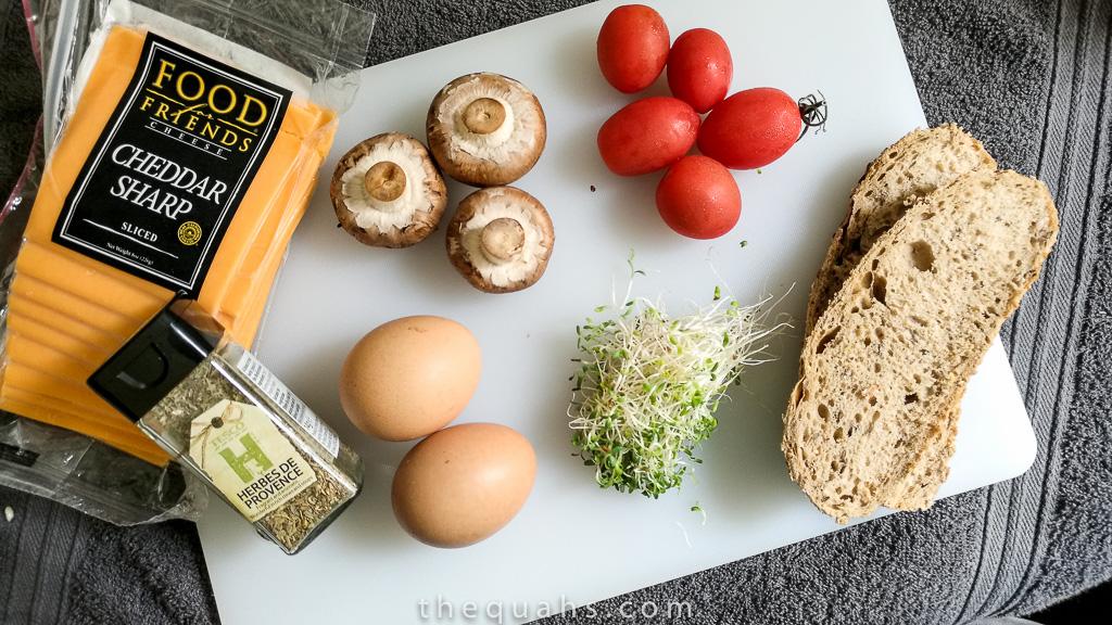 healthy omelette ingredients