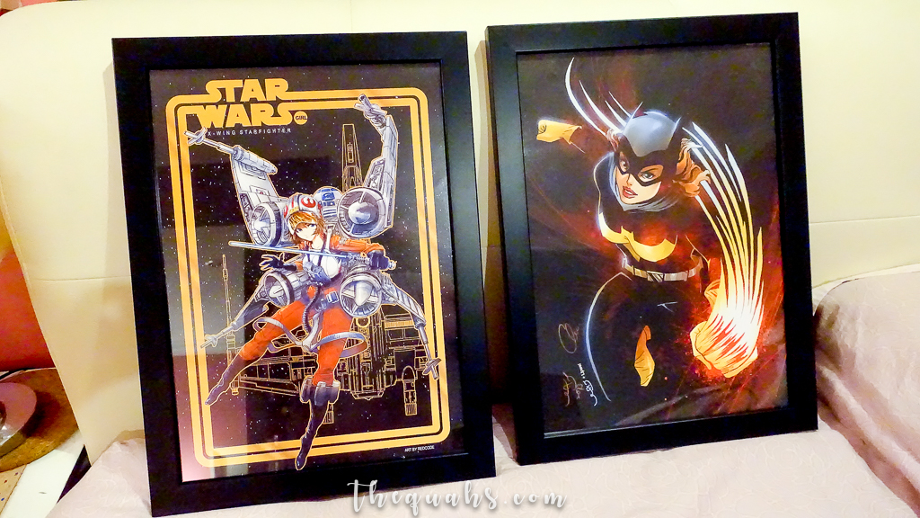Solid poster frames to display your fan art   theQuahs.com