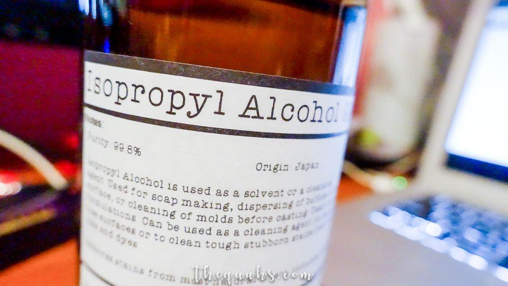 isopropyl alcohol 99.8%