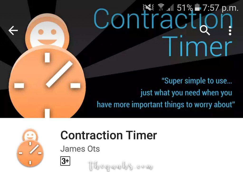 Contraction Timer by James Ots